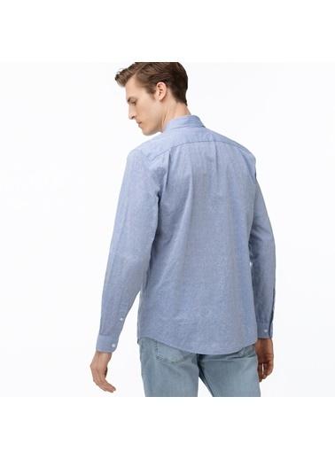 Lacoste Erkek Slim Fit Gömlek CH0072.72M Mavi